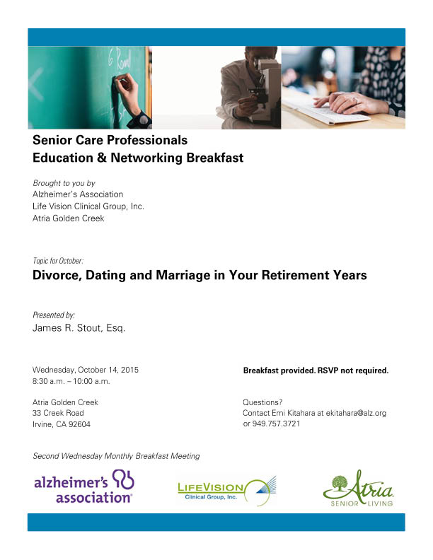 Dating for retired professionals